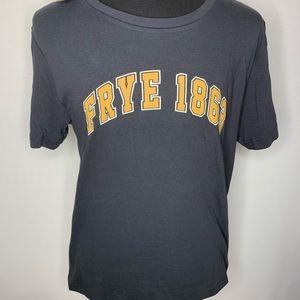 Frye 1863 T-Shirt Jet Black Mens L Style